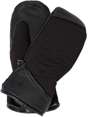 Toni Sailer Cata leather-trimmed ski gloves