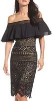 Tadashi Shoji Women's Off The Shoulder Sheath Dress