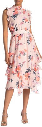 Rachel Roy Nakita Floral Midi Dress