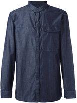 Emporio Armani plain shirt - men - Cotton/Silk - M