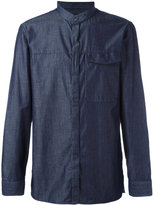 Emporio Armani plain shirt - men - Silk/Cotton - M