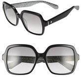 Kate Spade 'katels' 54mm Sunglasses