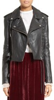 McQ by Alexander McQueen Women's Lace-Up Leather Jacket