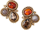 Stephen Dweck Rock Crystal Trapezoidal Earrings