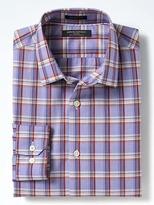 Banana Republic Grant Slim-Fit Non-Iron Stretch Grid Shirt