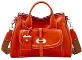 Dooney & Bourke Florentine Toscana Front-Pocket Leather Satchel