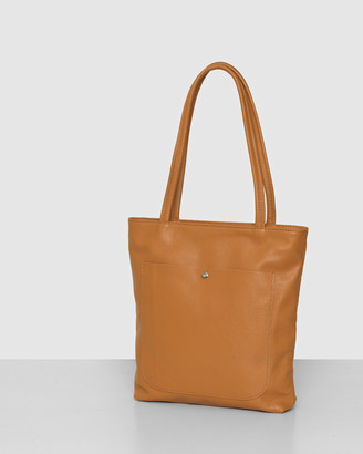 Bee Women's Brown Leather bags - The Magenta Tan Tote Bag - Size One Size at The Iconic