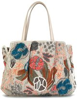 Jamin Puech embroidered shoulder bag