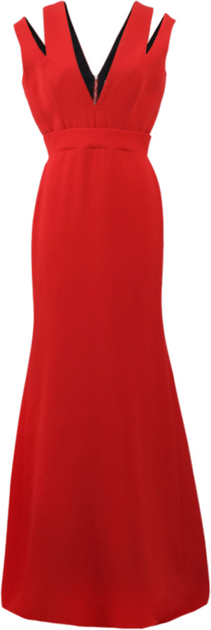 Victoria Beckham Cut-Out Gown