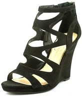 Jessica Simpson Delina Women Open Toe Synthetic Wedge Sandal.