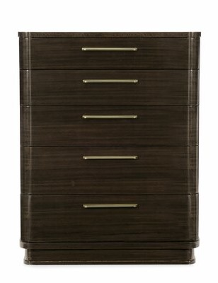 Caracole Modern Modern Streamline 5 Drawer Chest