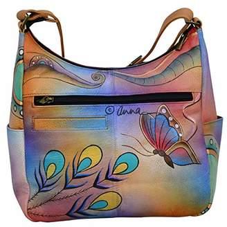 Anuschka Anna by Hobo Organizer Handbag - Genuine Leather -