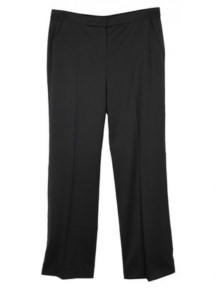Mulberry Black Wool Trousers