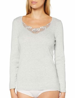 Damart Women's T-Shirt Manches Longues FINE COTE