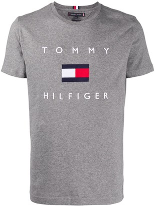 Tommy Hilfiger flag crewneck T-shirt