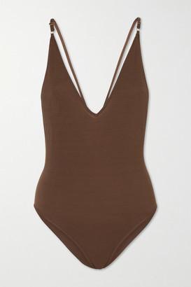 Dodo Bar Or Liam Tencel Bodysuit - Brown