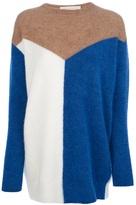 Stella McCartney colour block sweater