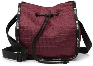 Le Sport Sac Nadine Drawstring Crossbody Bag