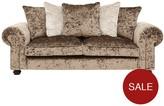 Laurence Llewellyn Bowen Scarpa 3-Seater Fabric Sofa