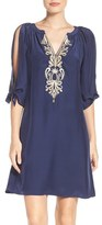 Lilly Pulitzer Bryce Embroidered Silk Tunic Dress