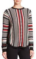 Townsen Ikat Crewneck Sweater