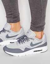 Nike Air Max 1 Ultra Trainers In Grey 845038-002