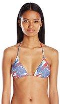 Volcom Women's Liberty Triangle Bikini Top