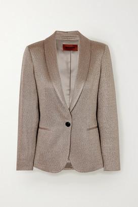 Missoni Metallic Knitted Blazer - Beige