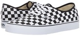 Vans Authentictm Black/True White) Skate Shoes