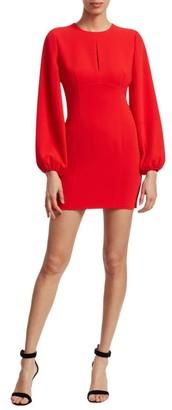 Cinq à Sept Danica Puff-Sleeve Mini Dress