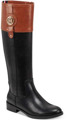 Tommy Hilfiger Women Imina Riding Boots Women Shoes