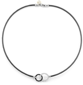 Alor Noir Hook Necklace, 18