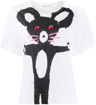 Marni mouse print T-shirt