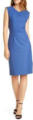 Rebecca Taylor Tailored by Gabardine Sheath Dress