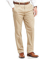 Roundtree & Yorke Travel Smart Side Elastic Twill Pants