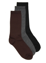 Nine West Basic Womens Crew Socks - 3 Pack