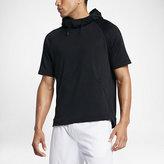 Nike Dry Men's Short Sleeve Training Hoodie