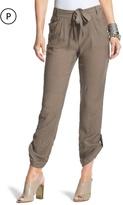 Chico's Textured Roll-Hem Crop Pants