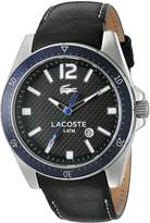 Lacoste Men's Seattle 2010751 Leather Analog Quartz Watch
