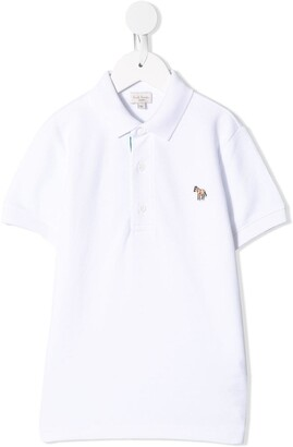 Paul Smith Logo-Patch Polo Shirt