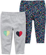 Carter's Floral Knit Leggings - Baby Girls