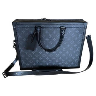 Louis Vuitton Black Cloth Small bags, wallets & cases