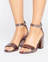 Oasis Ankle Strap Heeled Sandal