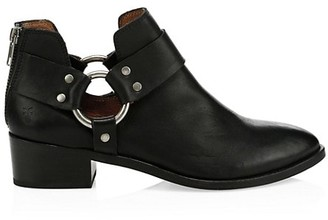 Frye Ray Harness Leather Ankle Boots