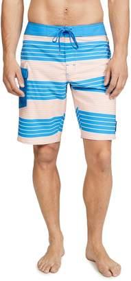 RVCA Uncivil Stripe Swim Trunks