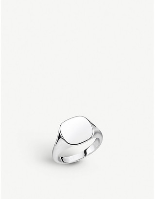 Thomas Sabo Rebel At Heart sterling silver signet ring