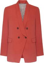 Brunello Cucinelli Linen Cotton Double-Breasted Blazer