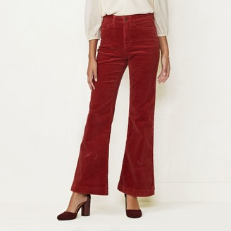Lauren Conrad Women's Flare-Leg High-Waisted Jeans