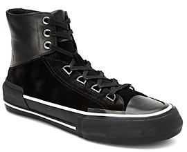 AllSaints Men's Waylon Leather High-Top Sneakers