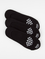 Vans 3 Pack Girly No Show Socks